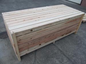 木箱梱包完了の形です。