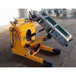 """ロールピッカー(ロール搬送機器) PR-500-120-MF """"最大使用荷量500kgf"""" HIMECS(ハイメックス)製 「フィルムやアルミロールの搬送作業に★」"""