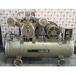 給油式 低圧エアーコンプレッサー(圧力開閉器式) SP105-75T 4 東芝(TOSHIBA)製 「断続的な作業に最適☆」
