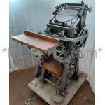 てきん(手キン,手フート) プラテン式手動活版印刷機 岩橋栄進堂製