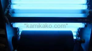 """【ラベル印刷(樹脂凸版)向け】ローラー回転式 製版露光機 """"簡潔ローラー回転式,製版可能幅400mm"""" 幸友社製 「シール,てきん,ラベル印刷等、ローラーに巻き付けて使用する版の作成に☆」"""