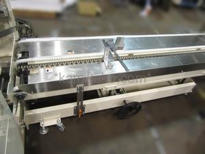 """全自動製函機 AF-5NS """"速度約8ケース/分,マガジン部拡張タイプ """" ストラパック(STRAPAC)製 「全自動で箱を大量生産!一度に260箱分を充填可能!」"""