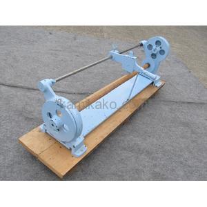 """箔切り機(ロールカッター,ホイルカッター) ブルーカラー """"対応ロール650mm"""" メーカー不明"""