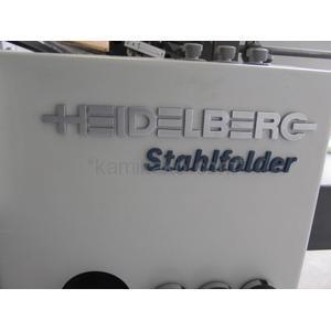 """[ローラー巻替代込み!]ハイデル高速紙折り機 スタールフォルダーTi40 """"A3対応,デジタル制御システム搭載"""" ハイデルベルグ(HEIDELBERG)製"""