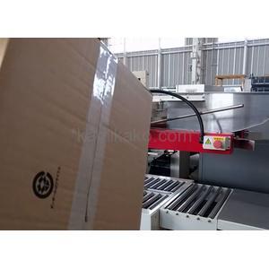 """簡易型 製封函機 AS-323 """"ケースサイズ450×620×600mmまで対応"""" ストラパック(STRAPCK)製 「省スペースで箱の組立を効率化できる、フラップ折込み機能付きカートンシーラー☆」"""