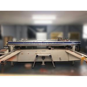 """半自動 大型シルクスクリーン印刷機 SMP-2400AN """"最大ワーク寸法2400×1200mm"""" SERIA(セリア,東海セリア)製"""