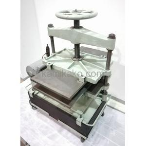 油圧式プレス機(製本プレス,折り目付け,糊付け押さえなどに) マツヤキカイ 製