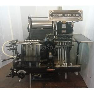 GTK プラテン 活版印刷&抜き仕様 ハイデルベルグ(HEIDELBERG)製