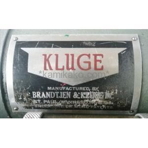 凸版印刷機 クルーギー(KLUGE) BRANDTJEN&KLUGE製