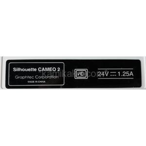 """小型カッティングマシン silhouette CAMEO """"最大対応幅304mm"""" グラフテック(GRAPHTEC)製"""