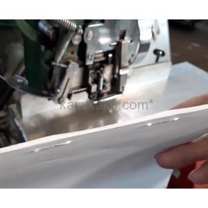 有線綴じ機 1ヘッド 型式不明 フットペダル操作 株式会社秀工舎(SHUKOSHA)製
