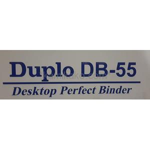 """無線綴じ機(デューバインダー) DB-55 """"最大製本サイズB4横"""" デュプロ(Duplo)製"""