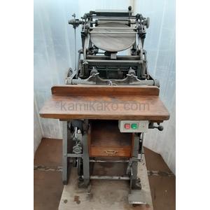 プラテン式手動活版印刷機