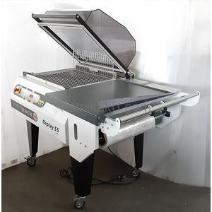手動式シュリンクパッカー MILANOシリーズ REPLAY55S evo シール面積540×390mm 成光産業(MINIPACK)製